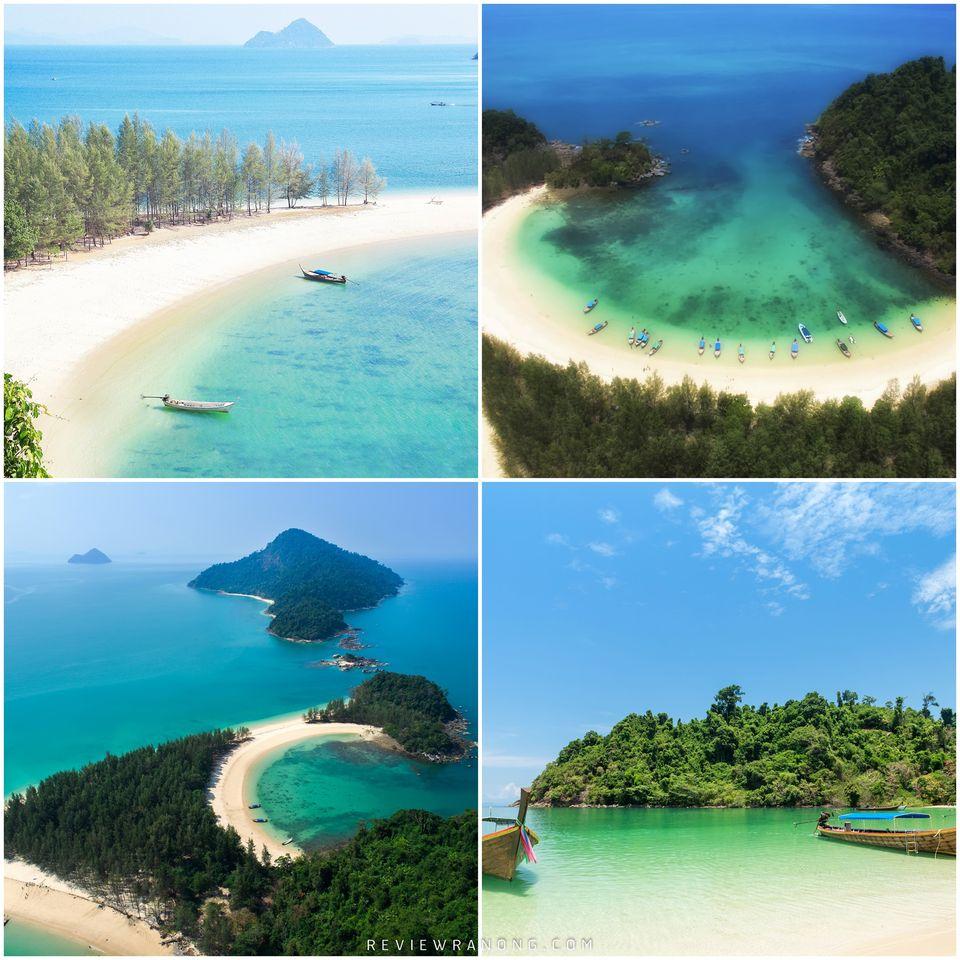 8.-หมู่เกาะกำ-ความสวยงามธรรมชาติทะเลน้ำใส-ชิวๆกันยาวๆ  จุดเช็คอิน,ระนอง,สถานที่ท่องเที่ยว,ของกิน,ทะเล,ภูเขา