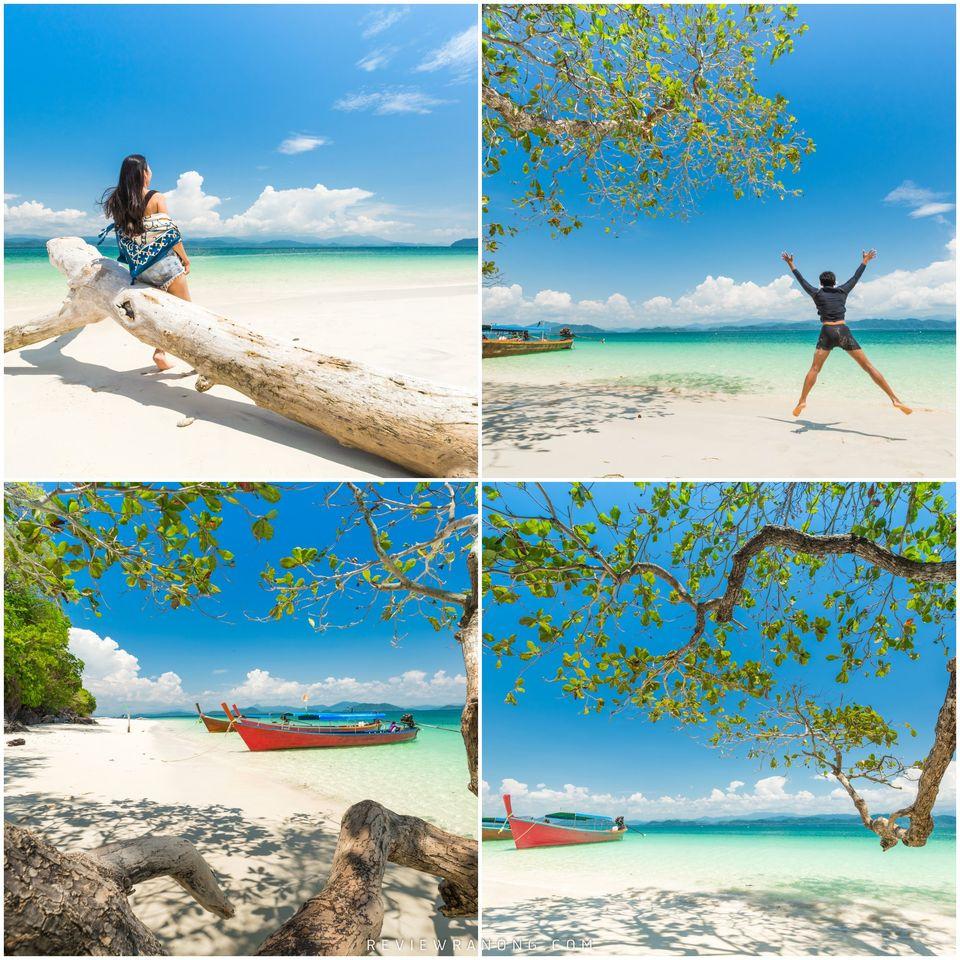 9.-เกาะค้างคาว-ใช้เวลาเดินทางโดยเรือประมาณ-30-นาที-ชายหาดสะอาด-น้ำใส-แอดชอบมวากก  จุดเช็คอิน,ระนอง,สถานที่ท่องเที่ยว,ของกิน,ทะเล,ภูเขา